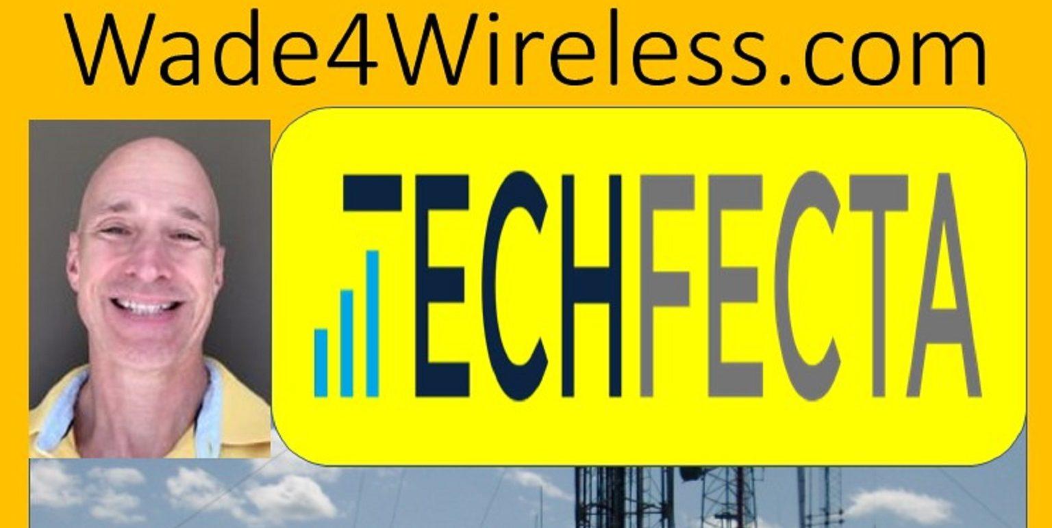 Wade Logo Wade4Wireless and TechFecta Podcast v2